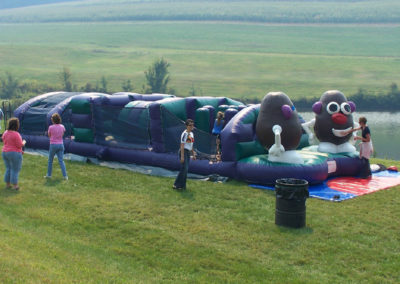 Spuds Brothers Obstacle Course