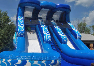 Two Lane Water Slide